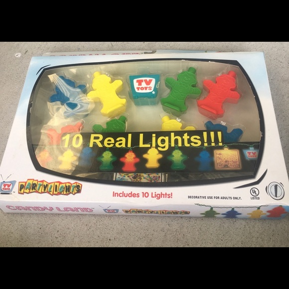 Other - Candyland Patio String Lights Party Decorations